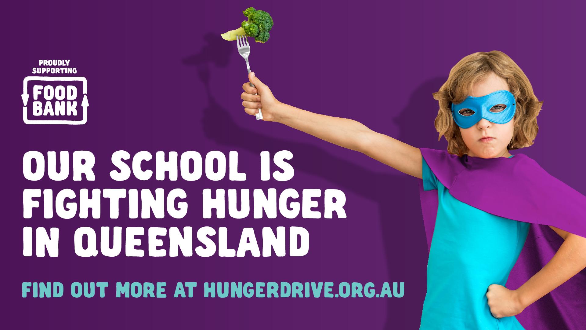 School - Hunger Fighter - Facebook Event